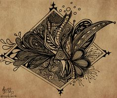 Zentangle by ~gisellemendes on deviantART