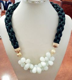 Pearl Necklace, Beaded Necklace, Jewelry Design, Pearls, Stone, Fashion, String Of Pearls, Beaded Collar, Moda