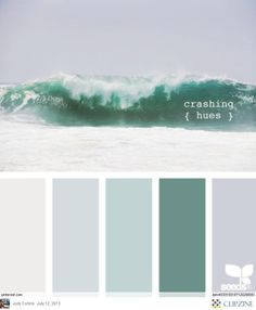 Crashing hues