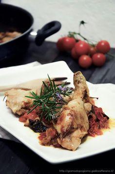 Pollo ala pugliese chicken for dinner