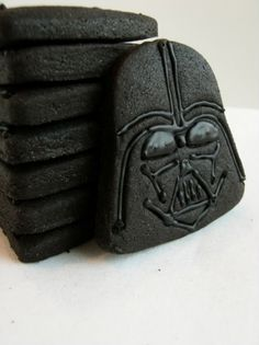 Darth Vader cookies --- and I have the cookie cutters!!