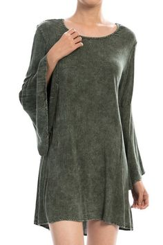Sophia Lace-back Kimono Sleeve Dress