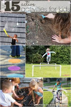 15  Activities for Active Kids - Join in the celebration of the Annual Family Playdate May 10!  #ad