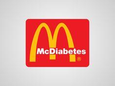 logos honnetes de grande marque mc donalds   Parodies de logos: des logos honnêtes pour les marques   Viktor Hertz photo parodie marque logo...