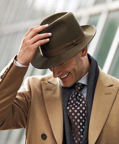 Brooks Brothers Garrett Doubl Breasted Storm System Coat in Beige for Men (camel)