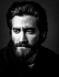 Ravageurs have beards.   Jake Gyllenhaal by Andy Gotts