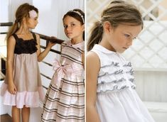 In my opinion, dressing up is one of those things that's absolutely necessary in childhood. Not just 'fancy dress' dressing up but dressing up to feel pretty, dashing or, as my daughter would say, 'like a princess.' It's simply good for the soul. Italian-based children's