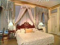 The Astor suite at the Plaza