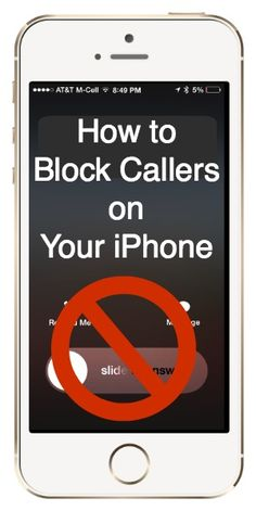 How to Block Callers on iPhone