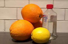 Bästa rengöringsmedlet gör du själv med citrus och ättika Stick O, Bra Hacks, Green Cleaning, Diy And Crafts, Life Hacks, Orange, Fruit, Inspiration, Bra Tips