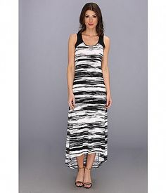 Black and white dress inspiration via and Love the pattern on this Calvin Klein Hi-Low Maxi Matte Jersey Dress. Perfect for the Hi Low Maxi, Calvin Klein, Black And White, Formal Dresses, Stylish, Womens Fashion, Sun Kissed, Inspiration, Clothes