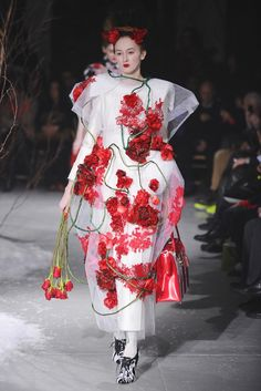 Bright Moments Fall 2013 Trends: ROSE RED (Thom Browne RTW Fall 2013)