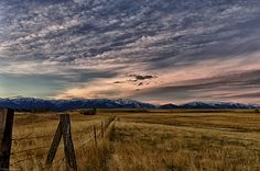 Montana_Ranch_Evening_Sky_HDR