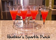 Heather's Sparkle Punch by The Spohrs Are Multiplying..., via Flickr