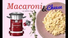 KitchenAid cook processor ARTISAN - How to Cook Macaroni Mac & Cheese li... How To Cook Macaroni, How To Cook Pasta, Cooking Bowl, Cooking Time, Kitchen Aid Recipes, Kitchen Aide, Kitchen Tools, Kitchen Gadgets, Kitchen Aid Cook Processor