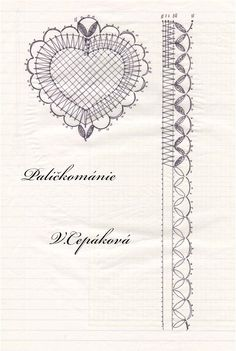Bobbin Lace Patterns, Lace Heart, Lace Jewelry, Needle Lace, Lace Detail, Diy And Crafts, Creations, Butterfly, Inspiration