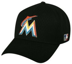 Miami Marlins Youth & Adult Official MLB Replica Adjustable Velcro Baseball Cap/Hat (Adult (6 7/8 - 7 1/2)) by Outdoor Cap. $9.48. Official MLB Replica Cap, Adjustable Velcro, Cotton Twill, Major League Baseball Official Team Logo.
