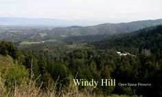 Windy Hill - 24 miles of trail. perfect marathon training.