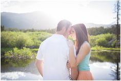 Plum Pretty Photography | Colorado Mountain Engagement Photography | St. Malo | Colorado Engagement Photographer| Allenspark Photographer