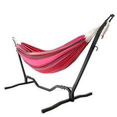 Enjoy your holidays or weekends outdoor/ indoor with a upgrade portable double hammock, 😍😏😜