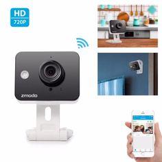 Zmodo-Mini-Wireless-IP-Camera-720p-HD-WiFi-Network-Home-Security-Two-Way-Audio