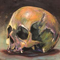 Image result for skull in art history