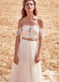 Two piece wedding dress from FPEverAfter