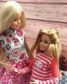 Barbie Sisters, Barbie Family, Lily Pulitzer, Chelsea, Sewing Patterns, Teen, Dolls, Clothes, Dresses