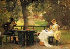 Montmartre: julio 2012- GEORGE DUNLOP LESLIE (1835-1921)