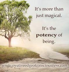 Potency of being #creativeedge