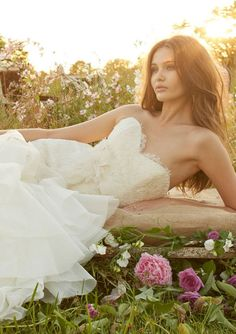 Jim Hjelm Bridal Gown 8356 At Castle Couture in NJ. Not sure I want a fitted (uncomfortable) bodice.