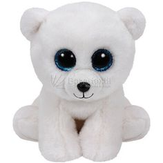 Ty Classic Arctic - Polar Bear Medium Collectable soft Beanie babies toy Brightly coloured design Highly tactile plush fabric Part of Ty's hugely popular Beanie Boo collection Ty Beanie Boos, Beanie Boo Party, Beanie Babies, Dog Beanie, Arctic Polar Bears, White Polar Bear, Ours Boyds, Ty Peluche, Ty Toys