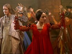 Juliet doing the Moresca Dance - Romeo and Juliet Leonard Whiting, Olivia Hussey) Franco Zeffirelli Film Olivia Hussey, Beau Film, Susan Sarandon, Marlon Brando, Jack Nicholson, William Shakespeare, Zeffirelli Romeo And Juliet, Juliet Capulet, Leonard Whiting