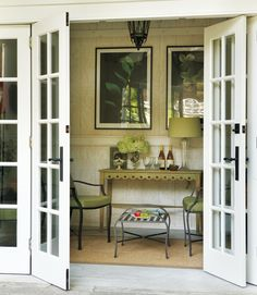 take out the window in the dining room and put in french doors. I can't wait!