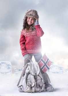 Mole Little Norway Nordic Knits childrenswear AW12