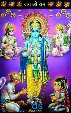 Jay Shri Ram, Bhagwan Shiv, Ram Hanuman, Hanuman Photos, Sita Ram, Sri Rama, Gods And Goddesses, Hinduism, Mobile Wallpaper
