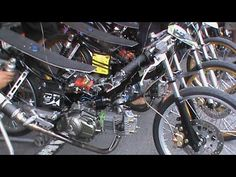 MOTOR BRAIN - Beginner Drag Racing FOUR STROKE 130cc Drag Bike