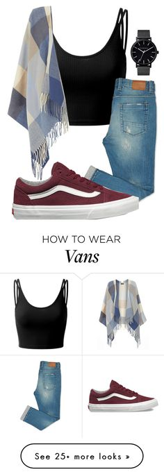 """""""Casual."""" by annayalee-gerber on Polyvore featuring Doublju, Dorothy Perkins, The Horse and Vans"""