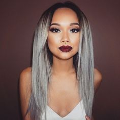 #GrannyHair forever. #GrannyHair has officially taken over the internet as the coolest hair trend.  Celebrities like Kylie Jenner and Kelly Osbourne have dyed their hair gray in the past, but recently