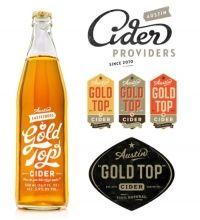 Gold top cider