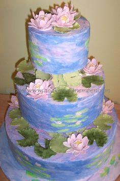 Monet Cake