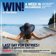 WIN a week in Mozambique