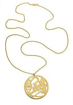 ShopStyle: Jennifer Zeuner Good Luck Circle Necklace