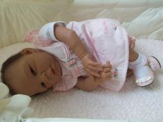 First attempt at an African American or Bi-racial reborn baby doll