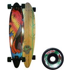 Koi & Bamboo longboards.