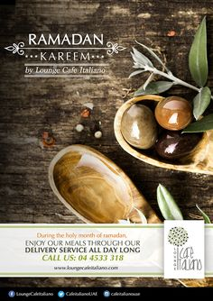 Ramadhan flyer for  CAFE ITALIANO