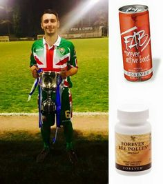 PLAYER ENDORSEMENT: Aaron Minhas, Midfielder, Windsor FC    I used the FAB energy drinks mixed with 2 Bee Pollen tablets before training & games for the remaining few games of this season. Straight away I noticed that I felt more alert & that my energy levels maintained for longer periods than they had during the season.  Where I really noticed it was in our recent Berks & Bucks Cup Final win against Flackwell Heath. The game went into extra time, which is when your energy levels count the…