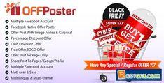 OFFPoster : Facebook Offer Poster (Image, Carousel & Video) - PluginsMart