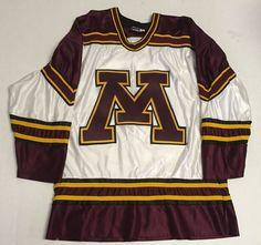 Vtg Minnesota Gophers Hockey Jersey Men's Small Koronis Sports Made In The USA #KoronisSportsApparelInc #MinnesotaGoldenGophers