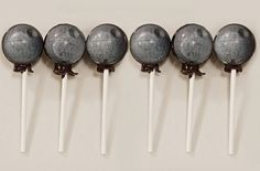 Star Wars Death Star Lollipops